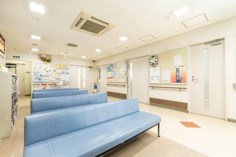 受付・待合室の風景|盛岡市の鎌田内科クリニック